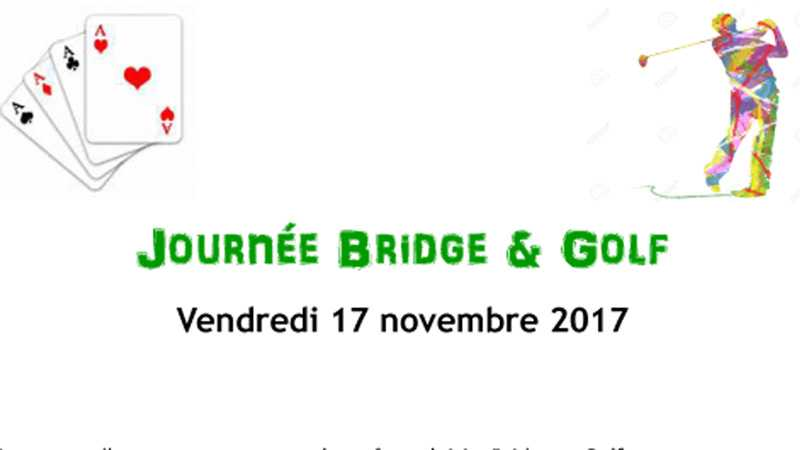JOURNEE BRIDGE ET GOLF